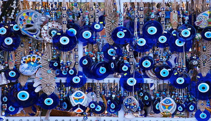 چشم نظر (the blue evil eye)