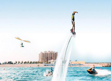 بهترین مکان ها برای تفریحات آبی در دبی