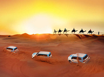 سفر به دل صحرا با سافاری دبی