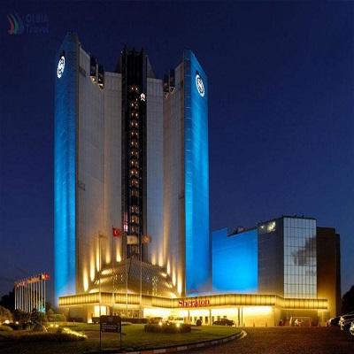 تور استانبول هتل شرایتون